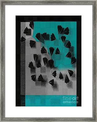 Be-leaf - J53036152 Framed Print by Variance Collections