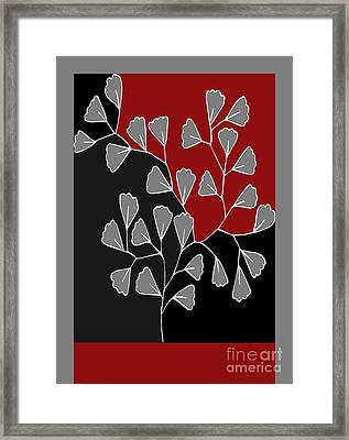 Be-leaf - Rb01btfr2 Framed Print by Variance Collections