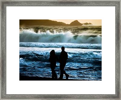 Beach Buddies Framed Print by Camille Lopez