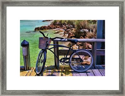 Beach Buggy-bike Framed Print by Tom Prendergast