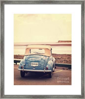 Beach Bum Framed Print by Edward Fielding