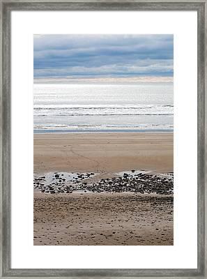 Beach Colors Framed Print by Kai Bergmann