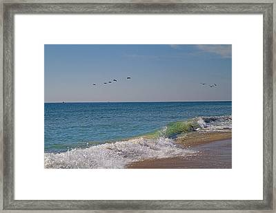 Beach Day Framed Print by Betsy C Knapp