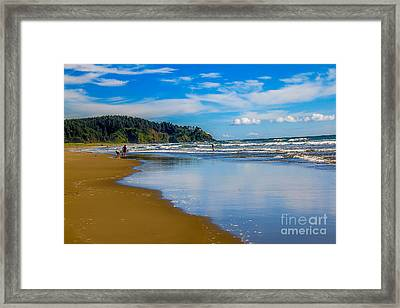 Beach Fun  Framed Print by Robert Bales