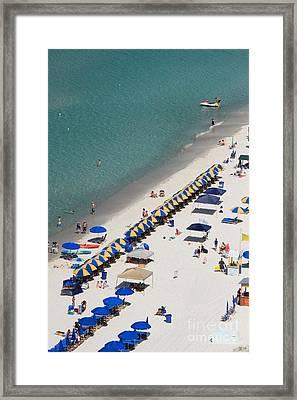 Beach Life  Framed Print by Jennifer E Doll