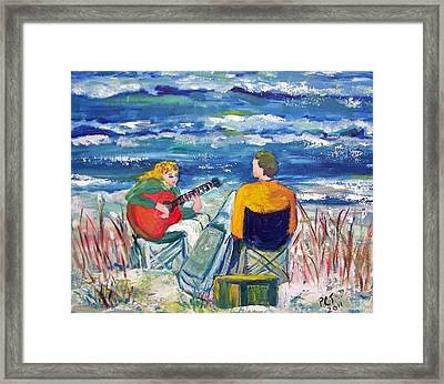 Beach Music Framed Print by Patricia Taylor