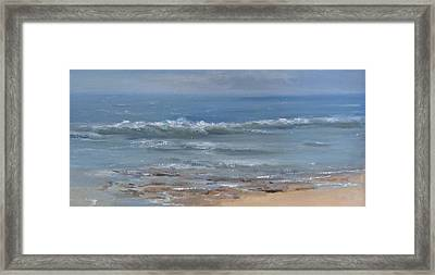 Beach Time Framed Print by Mar Evers