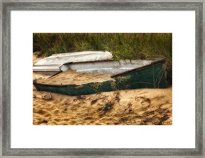 Beached Framed Print by Bill Wakeley