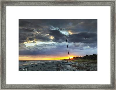 Beached For The Night Framed Print by Phill Doherty