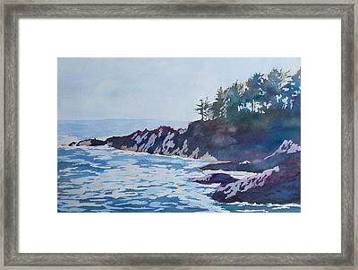 Beachhead Framed Print by Jenny Armitage