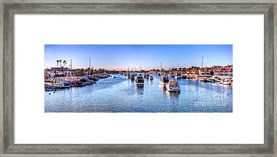 Beacon Bay Framed Print by Jim Carrell