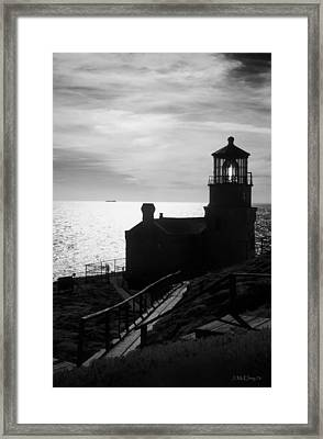 Beacon Of Hope Framed Print by Jerry McElroy