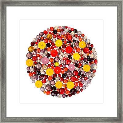 Beads Framed Print by Jim Hughes