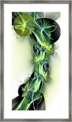 Beanstalk Framed Print by Anastasiya Malakhova