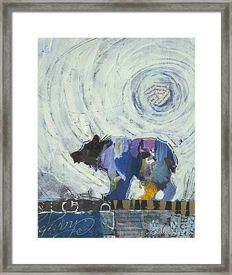 Bear IIi Framed Print by Shelli Walters