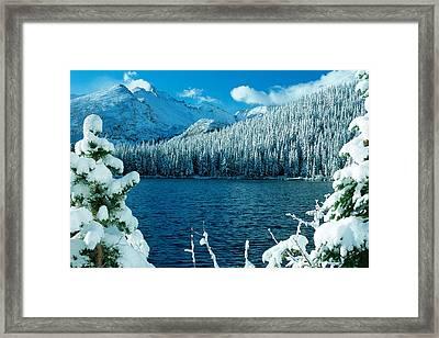 Bear Lake Framed Print by Eric Glaser