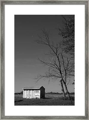 Bear Tavern Road Framed Print by Steven Richman