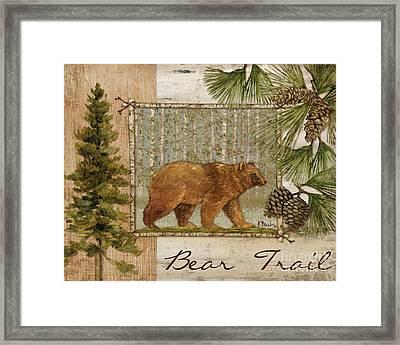 Bear Trail Framed Print by Paul Brent