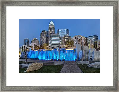 Bearden Blue Framed Print by Chris Austin