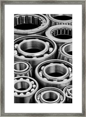 Bearings Framed Print by Jim Hughes