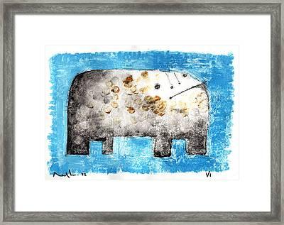 Beast Framed Print by Mark M  Mellon