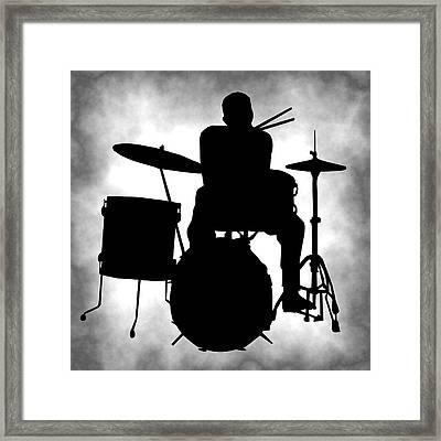 Beat Master Framed Print by Daniel Hagerman