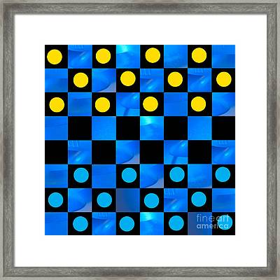 Beat The Blues Framed Print by Lena Wilhite