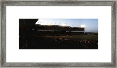 Yankee Stadium Framed Print by Retro Images Archive