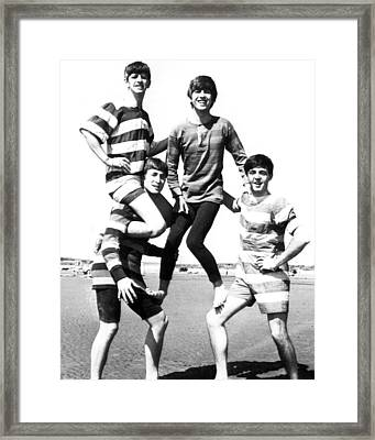 Beatle Beach Framed Print by Retro Images Archive