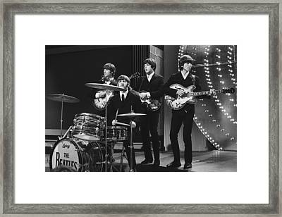 Beatles 1966 50th Anniversary Framed Print by Chris Walter