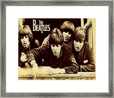 Beatles Framed Print by Cheryl Young