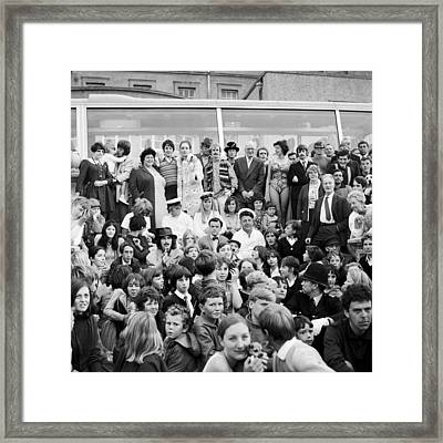 Beatles Magical Mystery Tour 1967 Framed Print by Chris Walter
