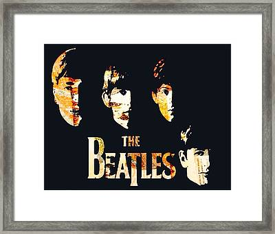 Beatles Framed Print by Trisha Buchanan
