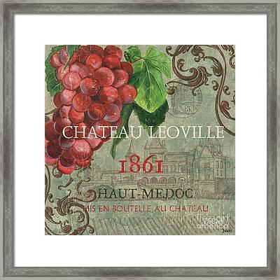 Beaujolais Nouveau 1 Framed Print by Debbie DeWitt
