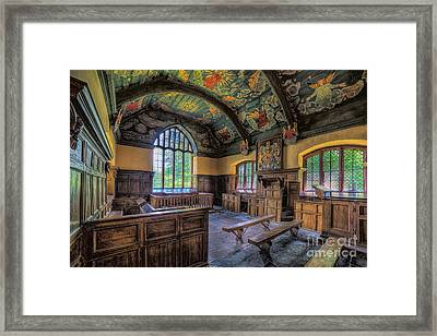 Beautiful 17th Century Chapel Framed Print by Adrian Evans