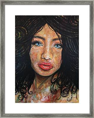 Beautiful Ambiguity Framed Print by Malinda  Prudhomme