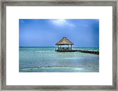 Beautiful Belize Framed Print by Kristina Deane