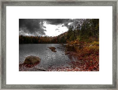 Beautiful Cary Lake Framed Print by David Patterson