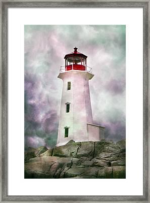 Beautiful Coastal Peggy Framed Print by Betsy Knapp