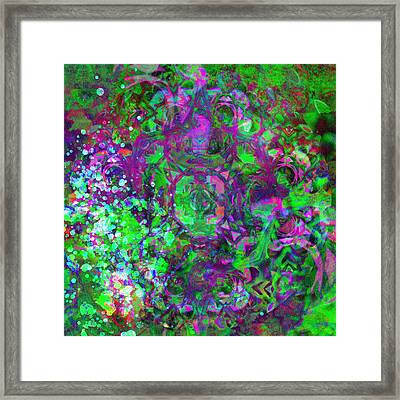 Beautiful Facade-abstract Art Framed Print by Georgiana Romanovna