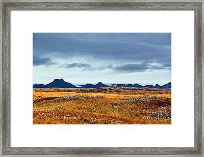 Beautiful Iceland Framed Print by Jasna Buncic