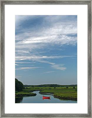 Beautiful Idyllic Cape Cod Framed Print by Juergen Roth
