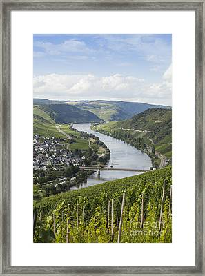 Beautiful Mosel River Framed Print by Patricia Hofmeester