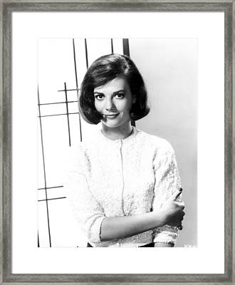 Beautiful Natalie Wood  Framed Print by Retro Images Archive