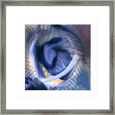 Beautiful Noise Framed Print by Bob Salo