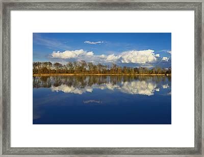 Beautiful Reflection Framed Print by Ivan Slosar