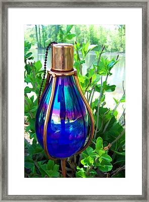 Beautiful Reflections Framed Print by Kathy Clark