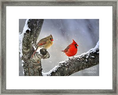 Beautiful Together Framed Print by Nava  Thompson