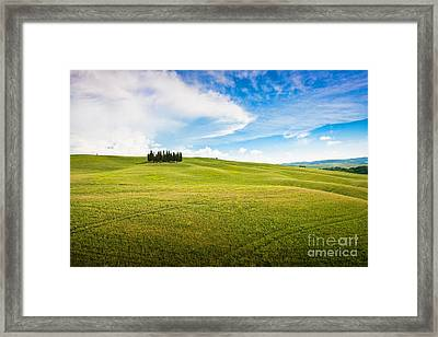 Beautiful Tuscany Framed Print by JR Photography