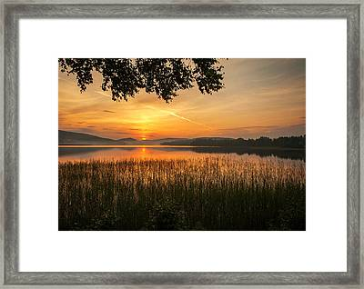 Beautiful View  Framed Print by Rose-Maries Pictures